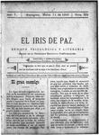 EL IRIS DE PAZ 11 de marzo de 1905