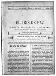 EL IRIS DE PAZ 4 de marzo de 1905