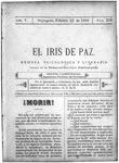 EL IRIS DE PAZ 25 de febrero de 1905