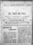 EL IRIS DE PAZ 4 de febrero de 1905