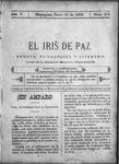 EL IRIS DE PAZ 21 de enero de 1905