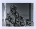 Joan Cassell and her Dog