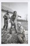 Three Boys in Wool Pile