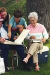 Elderly Couple and Children