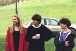 Three Students Standing