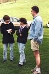 Three Students Gathered