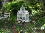 Birdhouse Yard Art Sculpture