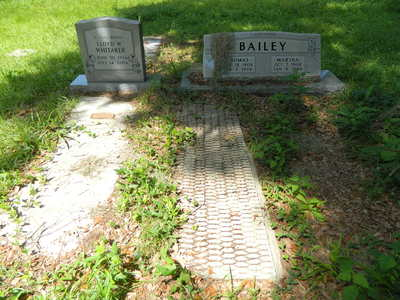 Gullah Cemetery off Eddings Point