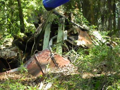Sam Doyle's House Ruins on Wallace Landing