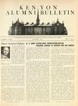 Kenyon Alumni Bulletin - January 1943