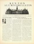 Kenyon Alumni Bulletin - April 1943