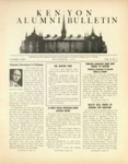 Kenyon Alumni Bulletin - November 1943