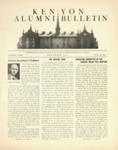 Kenyon Alumni Bulletin - November 1944