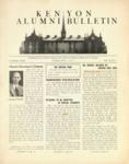 Kenyon Alumni Bulletin - February 1945