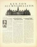 Kenyon Alumni Bulletin - May-August 1945