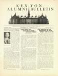 Kenyon Alumni Bulletin - November 1945-February 1946