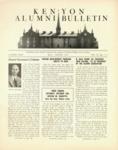 Kenyon Alumni Bulletin - May-August 1946