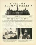 Kenyon Alumni Bulletin - November 1946