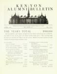 Kenyon Alumni Bulletin - May-August 1947