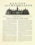 Kenyon Alumni Bulletin - November-December 1947