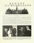 Kenyon Alumni Bulletin - July 1948