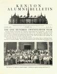 Kenyon Alumni Bulletin - October 1948
