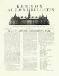 Kenyon Alumni Bulletin - January 1949