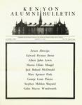 Kenyon Alumni Bulletin - March 15, 1949