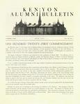 Kenyon Alumni Bulletin - July 1949