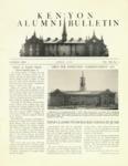 Kenyon Alumni Bulletin - April 1950