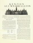 Kenyon Alumni Bulletin - Autumn 1950