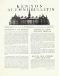 Kenyon Alumni Bulletin - Winter 1950-51
