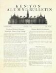 Kenyon Alumni Bulletin - Spring 1951