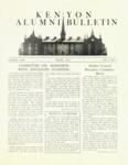 Kenyon Alumni Bulletin - Spring 1952