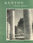 Kenyon Alumni Bulletin - Spring 1953