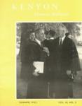 Kenyon Alumni Bulletin - Summer 1953