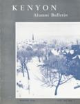Kenyon Alumni Bulletin - Winter 1954