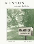 Kenyon Alumni Bulletin - Spring 1954