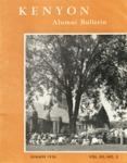 Kenyon Alumni Bulletin - Summer 1954