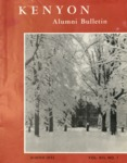 Kenyon Alumni Bulletin - Winter 1955