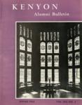 Kenyon Alumni Bulletin - Spring 1955