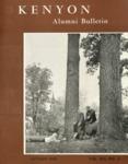 Kenyon Alumni Bulletin - Autumn 1955