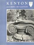 Kenyon Alumni Bulletin - Spring 1956