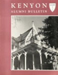 Kenyon Alumni Bulletin - Autumn 1956