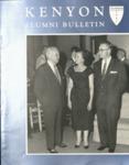 Kenyon Alumni Bulletin - Summer 1957
