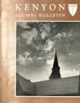 Kenyon Alumni Bulletin - Autumn 1957