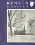 Kenyon Alumni Bulletin - Winter 1958
