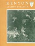 Kenyon Alumni Bulletin - Spring 1958