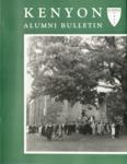 Kenyon Alumni Bulletin - Summer 1958