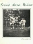 Kenyon Alumni Bulletin - April-June 1959